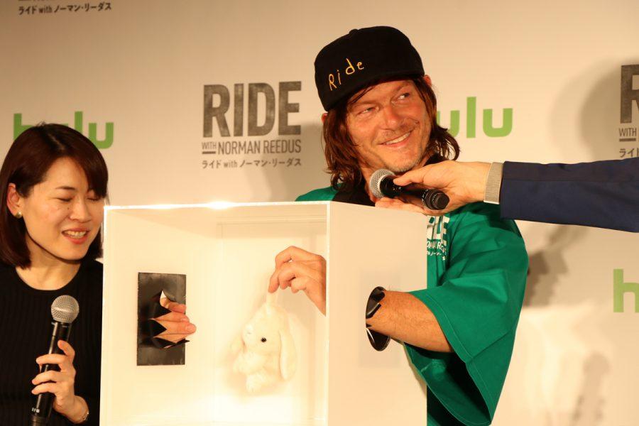 ノーマン・リーダスがファンミーティングで大盤振る舞い!『ライド with ノーマン・リーダス』最新シーズンは日本で撮影