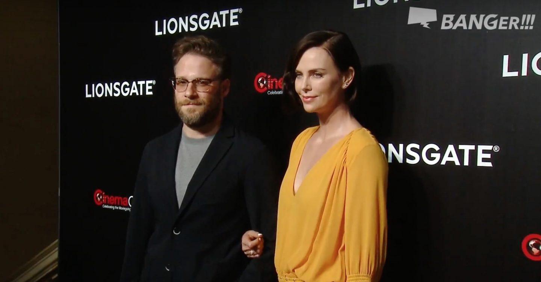 政治コメディで共演!シャーリーズ・セロンとセス・ローゲンは仲良しのフリ?「シネマコン」インタビュー(2/2)<Lionsgate編>