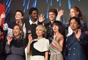 """『ストレンジャー・シングス』のウィルやダスティンらキャスト初来日!""""Netflix作品祭""""でシリーズへの想いやシーズン3への期待を語る"""