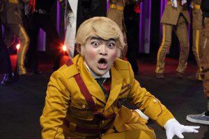怒涛のギャグ攻撃!! ブラックな変態パタリロが大暴れ! さあ、おいで! 美少年たちの耽美な世界へ『劇場版パタリロ!』
