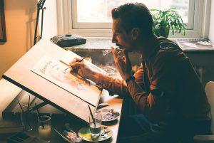 「ゲイ=マッチョ&口ヒゲ」のイメージは元帰還兵の画家が作った! ゲイアートの巨匠の知られざる半生を描く『トム・オブ・フィンランド』