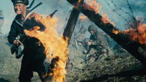 ソ連市民に、飢餓と嵐、さらにドイツ戦闘機メッサーシュミットが襲い掛かる!『セイビング・レニングラード 奇跡の脱出作戦』