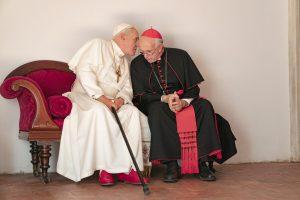 12億人の信徒のトップ、交代劇の裏側とは? A・ホプキンス&J・プライス競演『2人のローマ教皇』