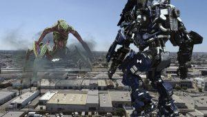 『パシ・リム』シリーズに便乗! 怪獣よりもブラック企業要素が怖いロボット映画『アトランティック・リム』
