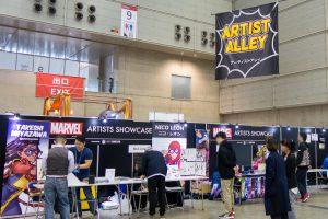 マーベル、DCの人気アーティストが集結!東京コミコンはアーティスト・アレイに行くべし