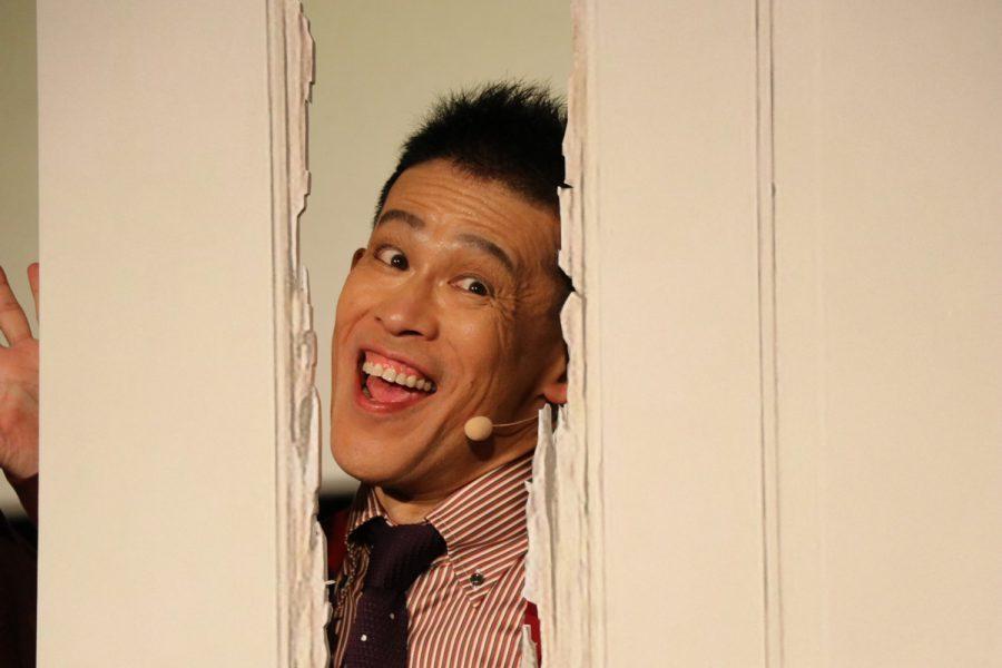 """あのドアの割れ目から「あばよ!」『ドクター・スリープ』特別試写会で柳沢慎吾が""""全力ひとりシャイニング""""披露"""