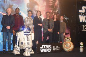 「C-3POが真の悪役説」にA・ダニエルズが意味深爆笑コメント!『スター・ウォーズ/スカイウォーカーの夜明け』記者会見