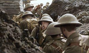 衝撃的なラスト数カットとは? 100年前の壮絶な「戦場」をカラーで完全復元『彼らは生きていた』