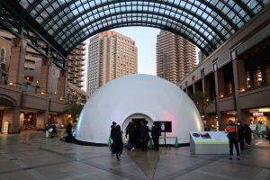 花火を真下から見られる巨大ドームは迫力満点! 今年のテーマは「時間を想像する」 恵比寿映像祭 開催中