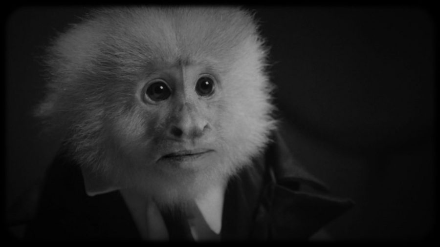 D・リンチがNetflixに降臨! 猿が容疑者でリンチが刑事のシュールな17分 会話劇『ジャックは一体何をした?』