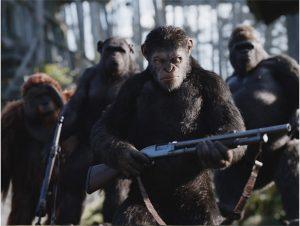 人類滅亡待ったなし! 新型ウイルスの蔓延から始まるSFシリーズ完結編『猿の惑星:聖戦記(グレート・ウォー)』