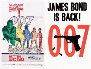 """『007』誕生の裏で勃発していた""""英米ロゴ戦争""""!? ~ ポスターより愛をこめて ~"""