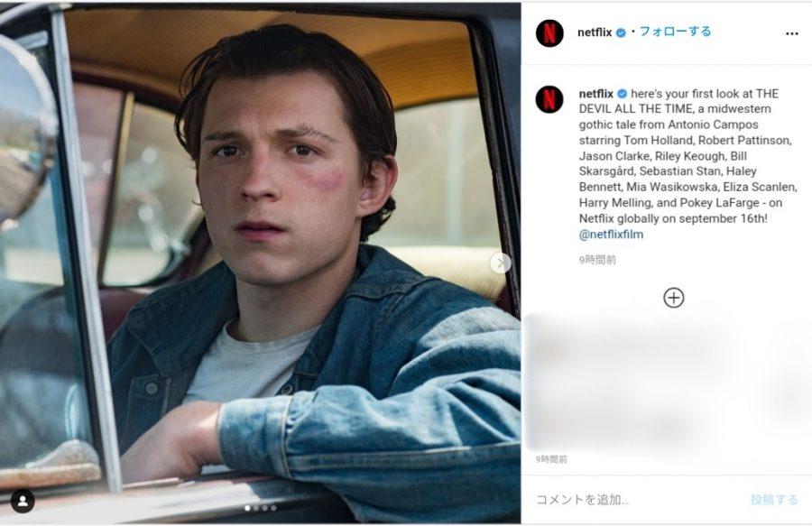 トムホ、R・パティンソン、S・スタンら豪華キャスト集結! Netflix最新作『悪魔はいつもそこに』