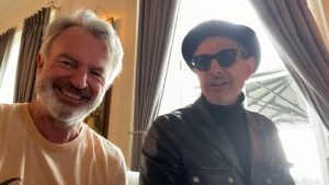 『ジュラシック・パーク』のサム・ニールとジェフ・ゴールドブラムがTwitterで美声を披露!!