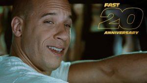 """『ワイスピ』シリーズ20周年記念、""""アクセル全開""""の特別映像が公開!! ファミリーの思い出がよみがえる!"""